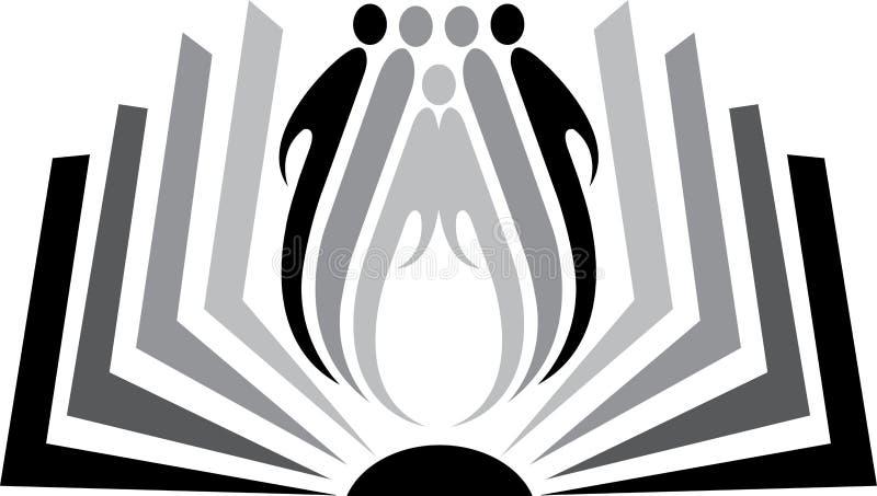 λογότυπο βιβλίων απεικόνιση αποθεμάτων
