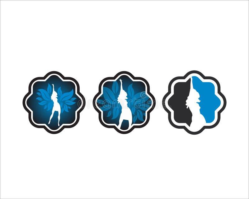 Λογότυπο γυναικών χορού στοκ φωτογραφίες με δικαίωμα ελεύθερης χρήσης