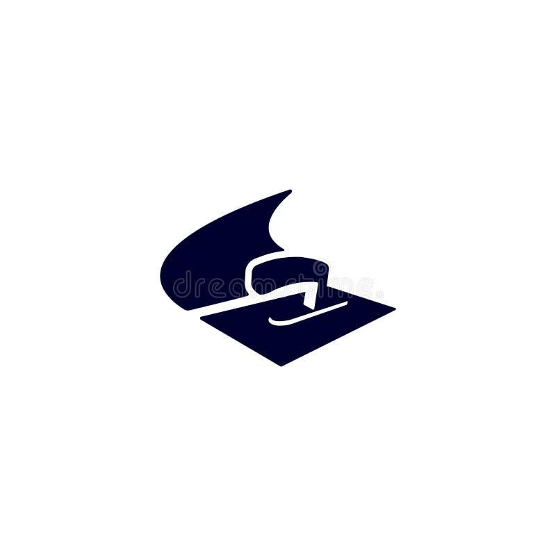Λογότυπο γυψαδόρων στόκων άνωθεν στοκ εικόνες