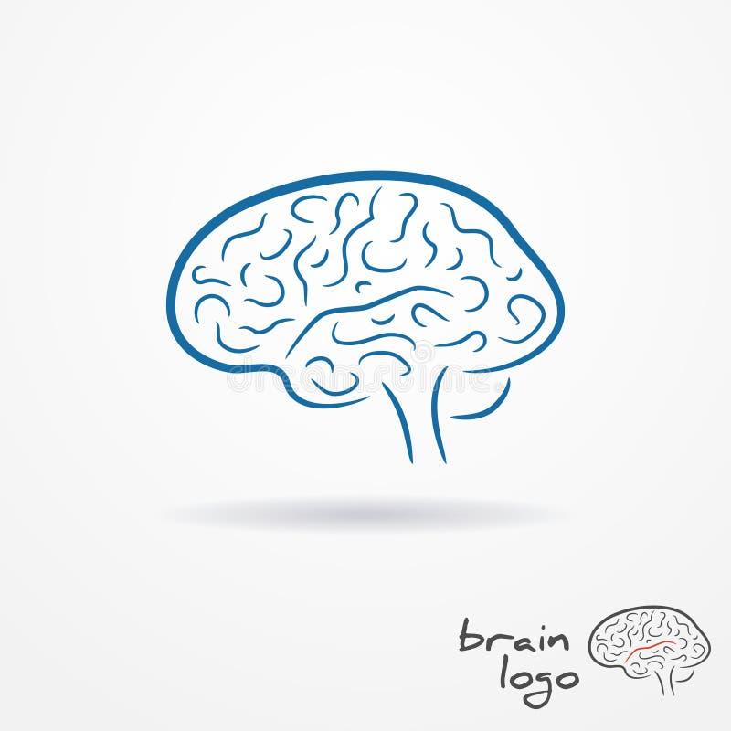 Λογότυπο εγκεφάλου απεικόνιση αποθεμάτων