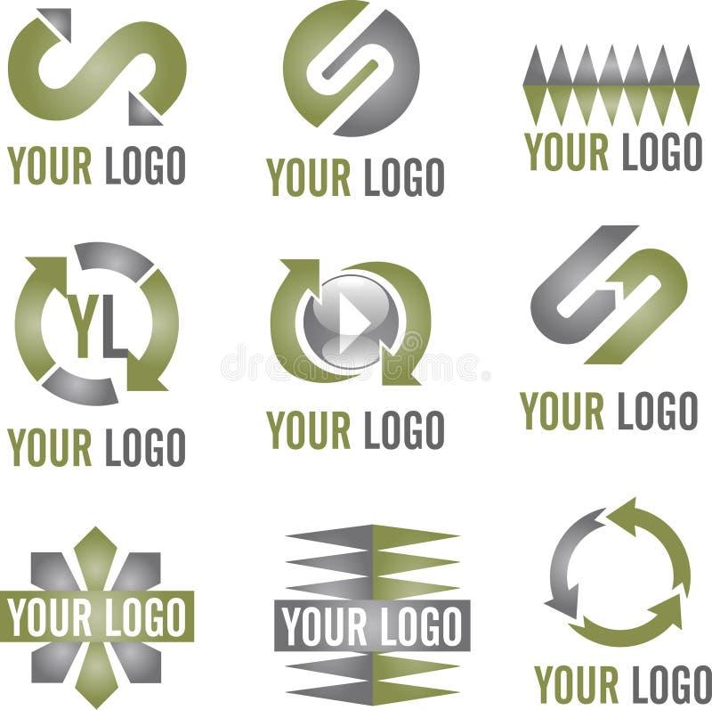 λογότυπο εικονιδίων σύγ& στοκ εικόνες με δικαίωμα ελεύθερης χρήσης
