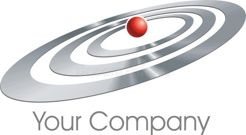 λογότυπο ελλείψεων απεικόνιση αποθεμάτων