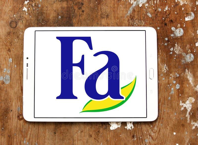 Λογότυπο εμπορικών σημάτων FA στοκ φωτογραφία με δικαίωμα ελεύθερης χρήσης