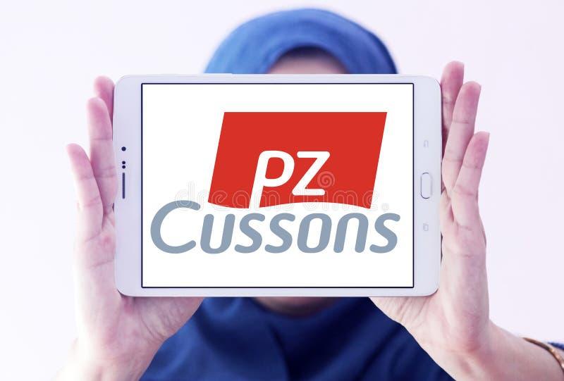 Λογότυπο εμπορικών σημάτων PZ Cussons στοκ φωτογραφία