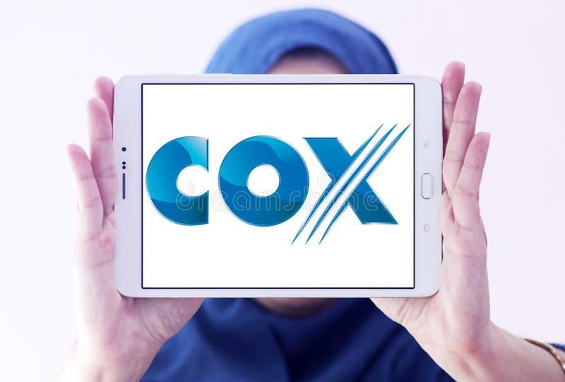 Λογότυπο επικοινωνιών COX στοκ φωτογραφίες με δικαίωμα ελεύθερης χρήσης