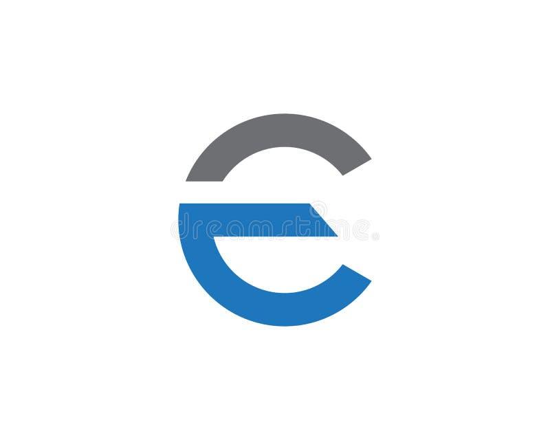 Λογότυπο επιστολών Ε ελεύθερη απεικόνιση δικαιώματος