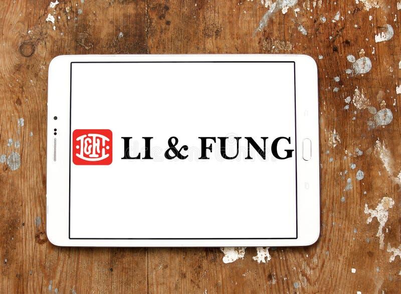 Λογότυπο επιχείρησης λι & Fung στοκ εικόνες με δικαίωμα ελεύθερης χρήσης