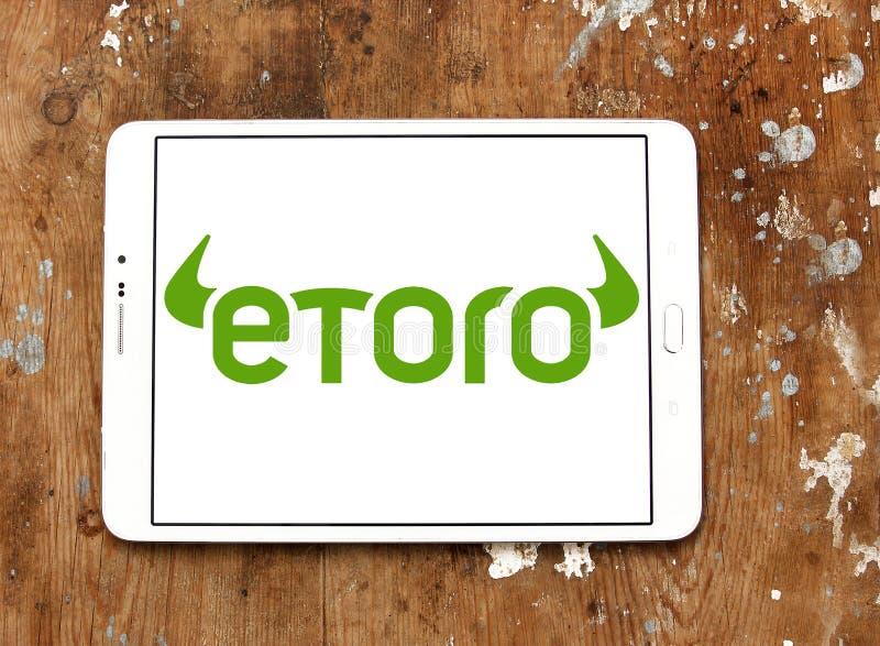Λογότυπο επιχείρησης μεσιτειών EToro στοκ φωτογραφία με δικαίωμα ελεύθερης χρήσης