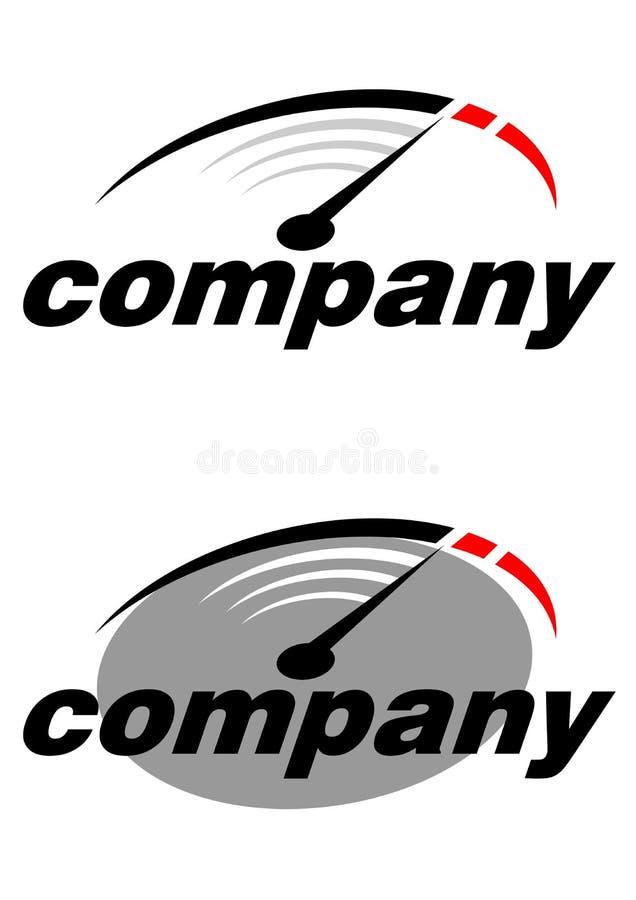 Λογότυπο επιχείρησης οδομέτρων ελεύθερη απεικόνιση δικαιώματος