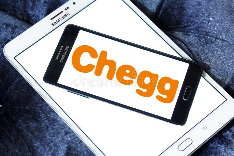 Λογότυπο επιχείρησης τεχνολογίας εκπαίδευσης Chegg στοκ εικόνες