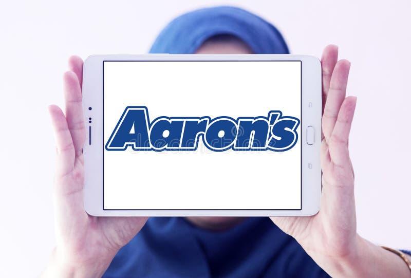 Λογότυπο επιχείρησης του Aaron ` s στοκ εικόνα με δικαίωμα ελεύθερης χρήσης