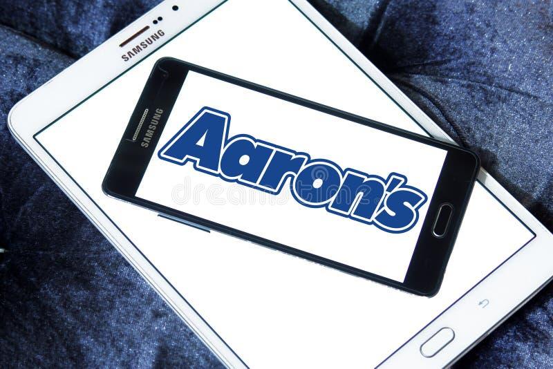 Λογότυπο επιχείρησης του Aaron ` s στοκ φωτογραφίες με δικαίωμα ελεύθερης χρήσης