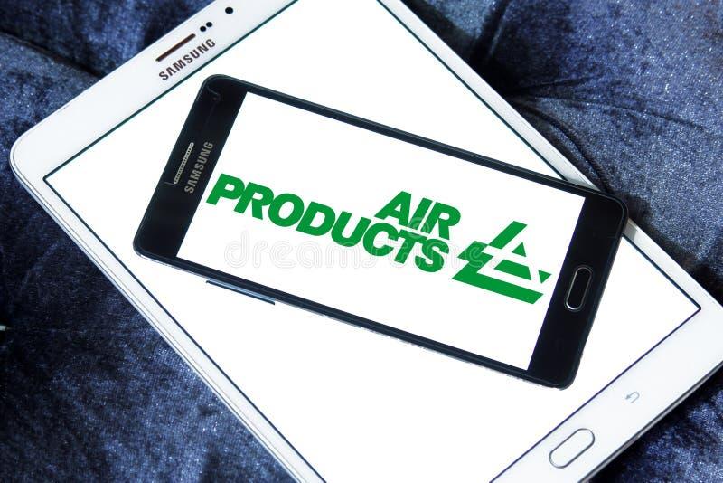 Λογότυπο επιχείρησης του Air Products & Chemicals στοκ φωτογραφίες με δικαίωμα ελεύθερης χρήσης