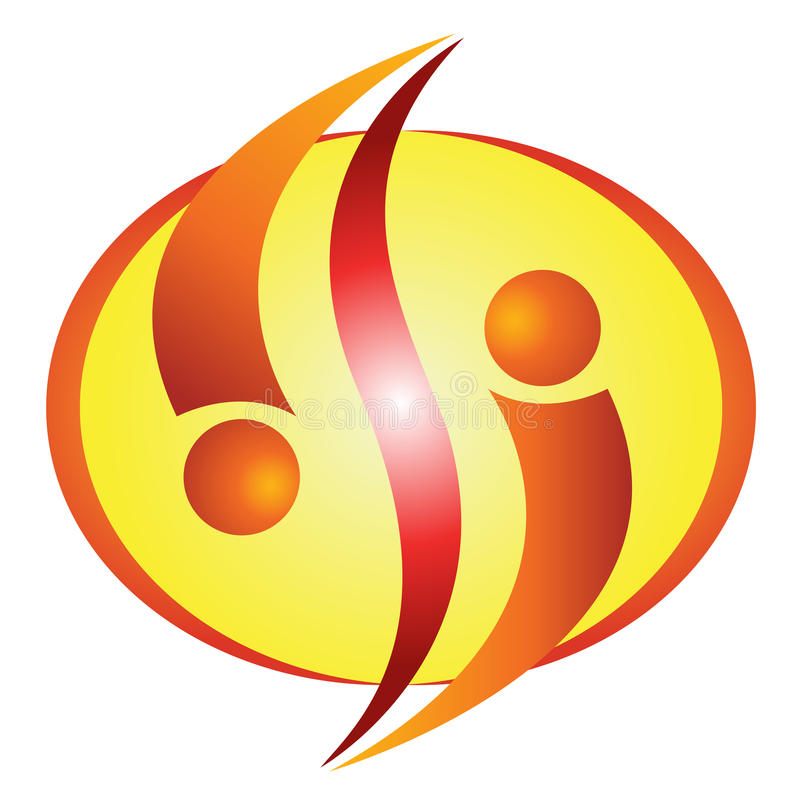 λογότυπο επιχείρησης απεικόνιση αποθεμάτων