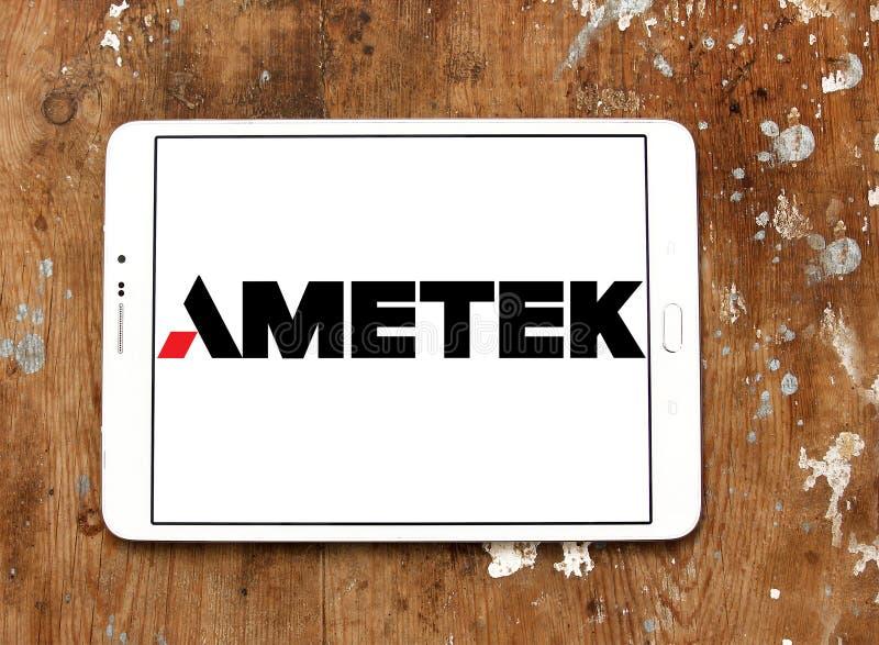 Λογότυπο επιχείρησης Ametek στοκ φωτογραφίες