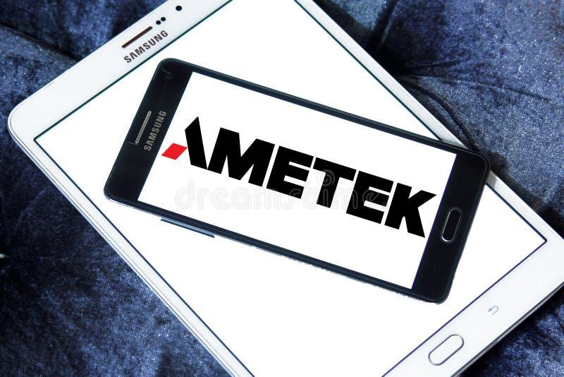 Λογότυπο επιχείρησης Ametek στοκ εικόνες