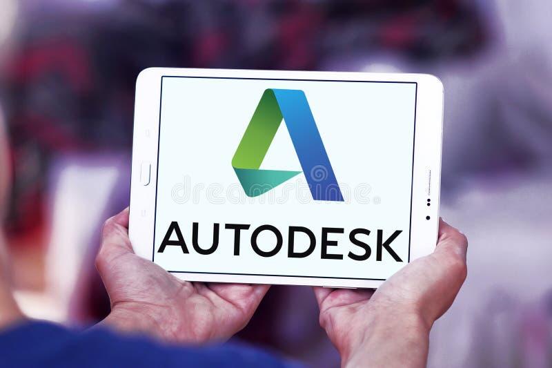Λογότυπο επιχείρησης Autodesk στοκ εικόνες