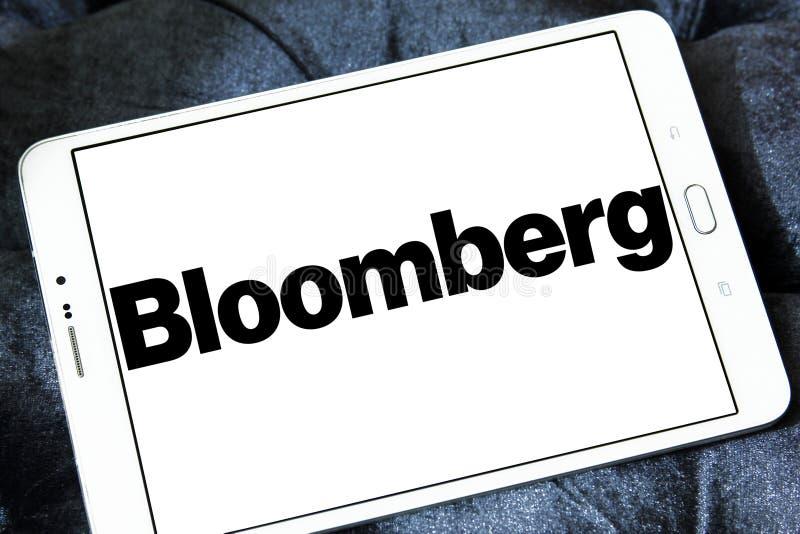 Λογότυπο επιχείρησης Bloomberg στοκ φωτογραφία