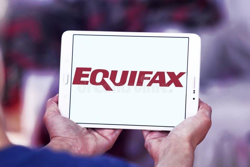 Λογότυπο επιχείρησης Equifax στοκ εικόνα