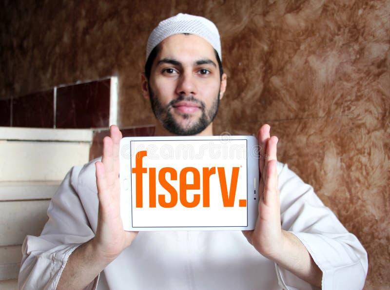 Λογότυπο επιχείρησης Fiserv στοκ φωτογραφίες με δικαίωμα ελεύθερης χρήσης