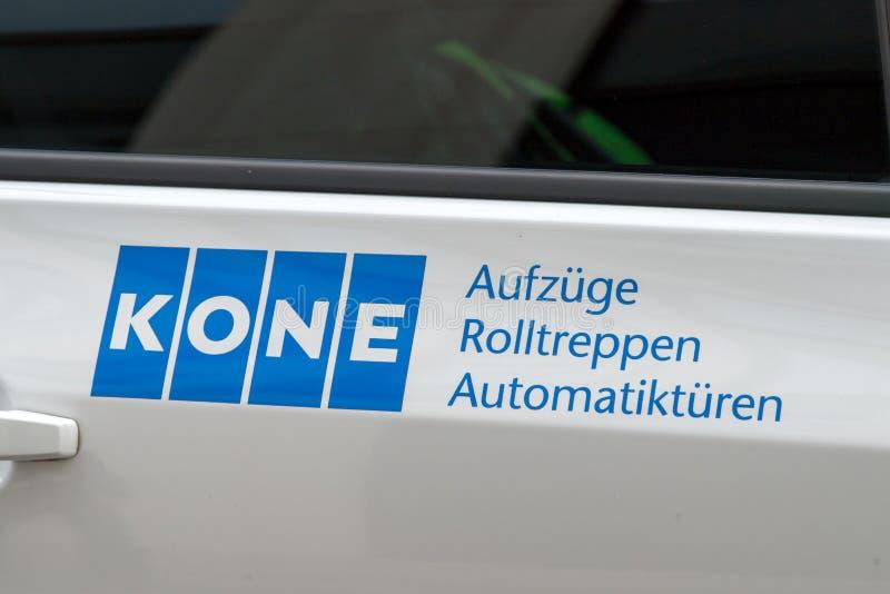 Λογότυπο επιχείρησης Kone στοκ εικόνες με δικαίωμα ελεύθερης χρήσης