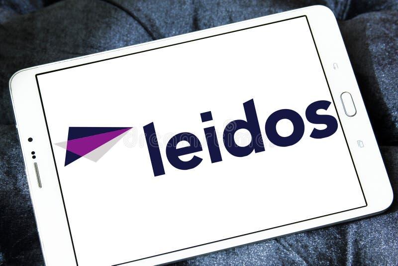 Λογότυπο επιχείρησης Leidos στοκ φωτογραφίες