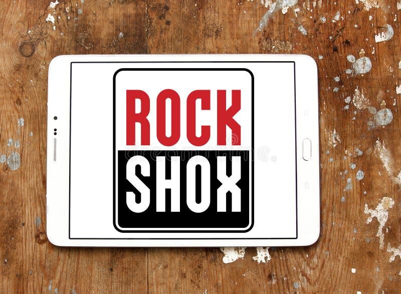 Λογότυπο επιχείρησης RockShox στοκ εικόνες