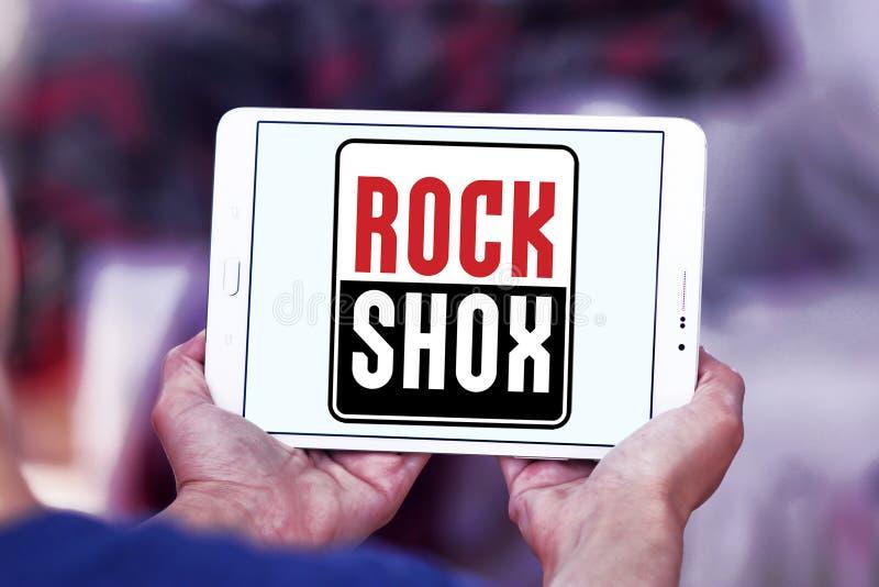 Λογότυπο επιχείρησης RockShox στοκ εικόνα