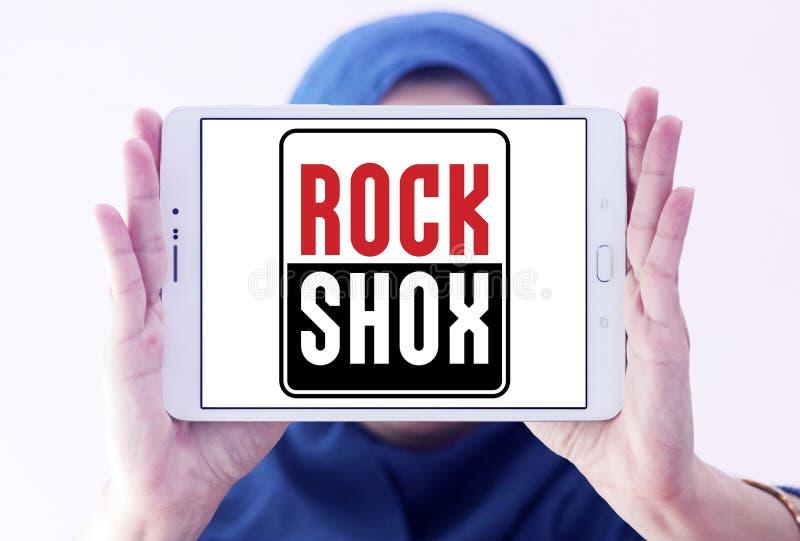 Λογότυπο επιχείρησης RockShox στοκ φωτογραφία με δικαίωμα ελεύθερης χρήσης