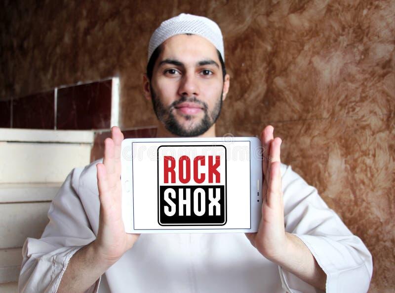 Λογότυπο επιχείρησης RockShox στοκ φωτογραφία