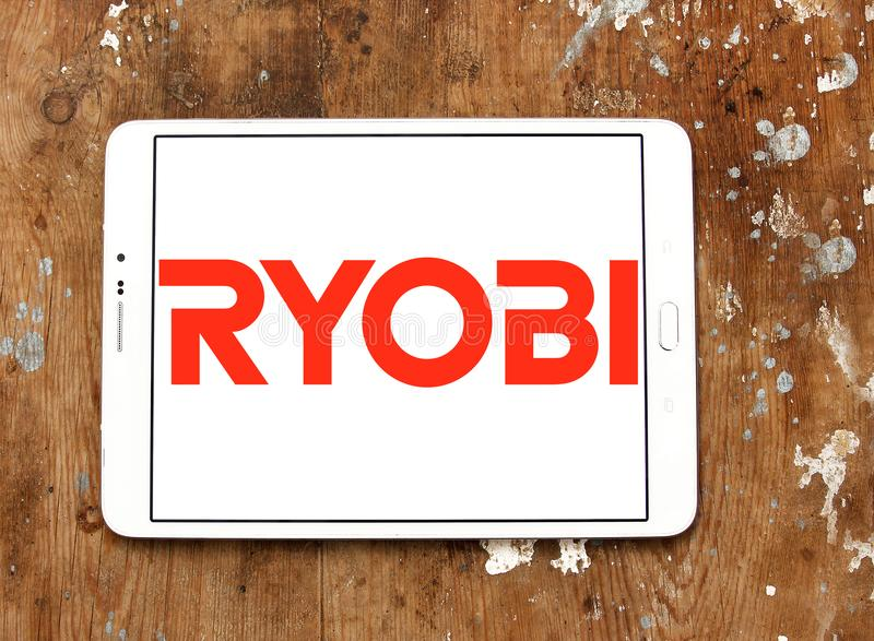 Λογότυπο επιχείρησης Ryobi στοκ φωτογραφία