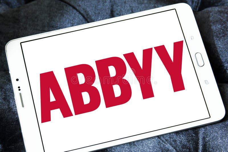 Λογότυπο εταιρείας λογισμικού ABBYY στοκ εικόνες με δικαίωμα ελεύθερης χρήσης