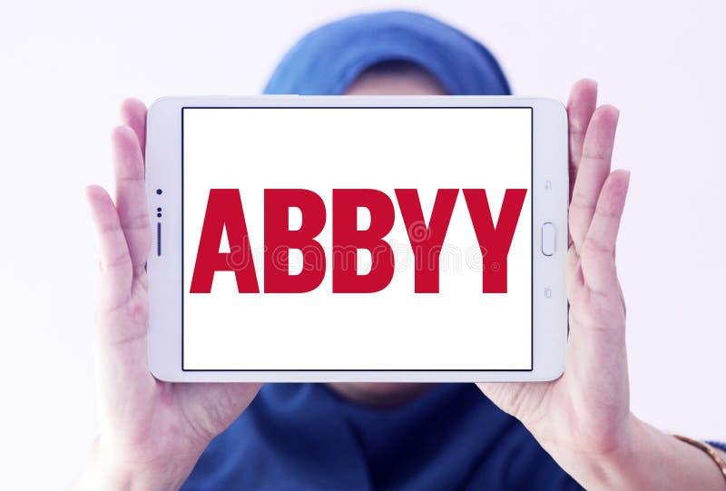 Λογότυπο εταιρείας λογισμικού ABBYY στοκ φωτογραφίες με δικαίωμα ελεύθερης χρήσης