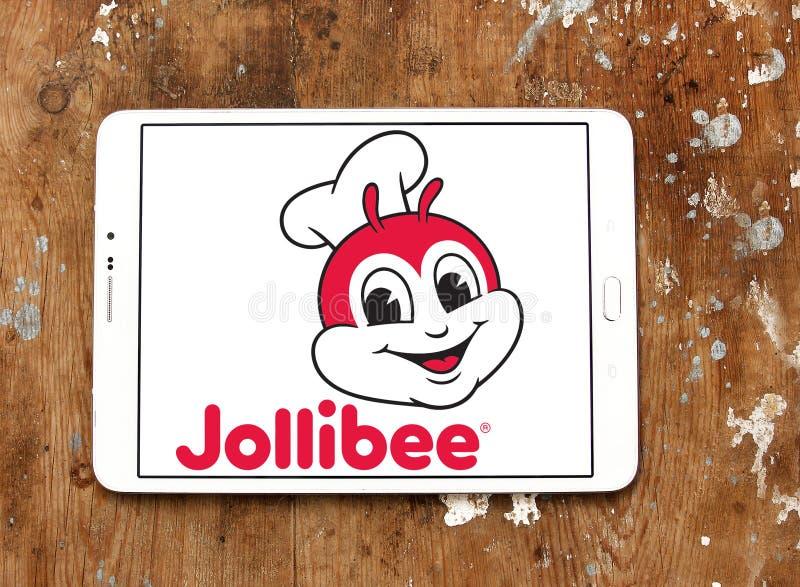 Λογότυπο εταιριών τροφίμων Jollibee στοκ εικόνα
