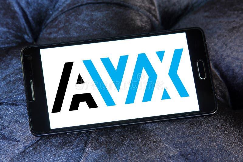 Λογότυπο εταιριών AVX στοκ εικόνα με δικαίωμα ελεύθερης χρήσης