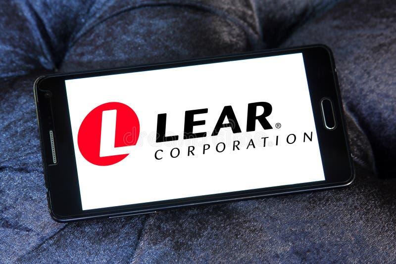 Λογότυπο εταιριών Lear στοκ φωτογραφίες με δικαίωμα ελεύθερης χρήσης