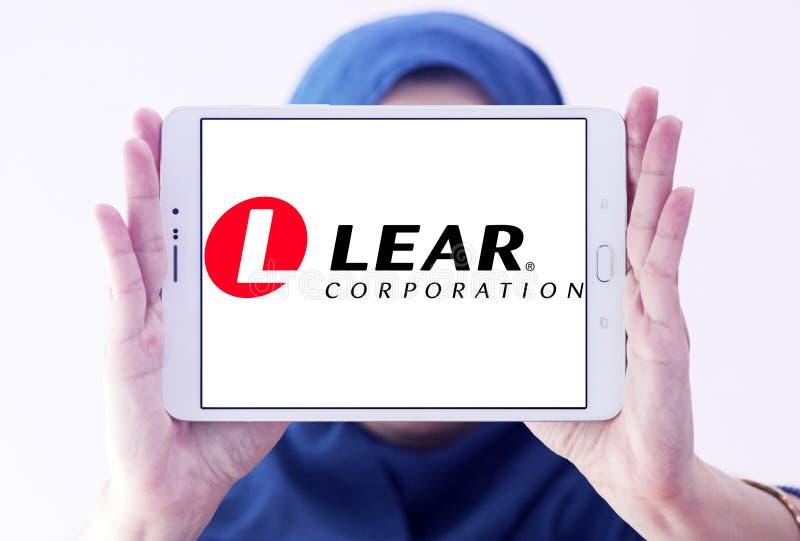 Λογότυπο εταιριών Lear στοκ εικόνες