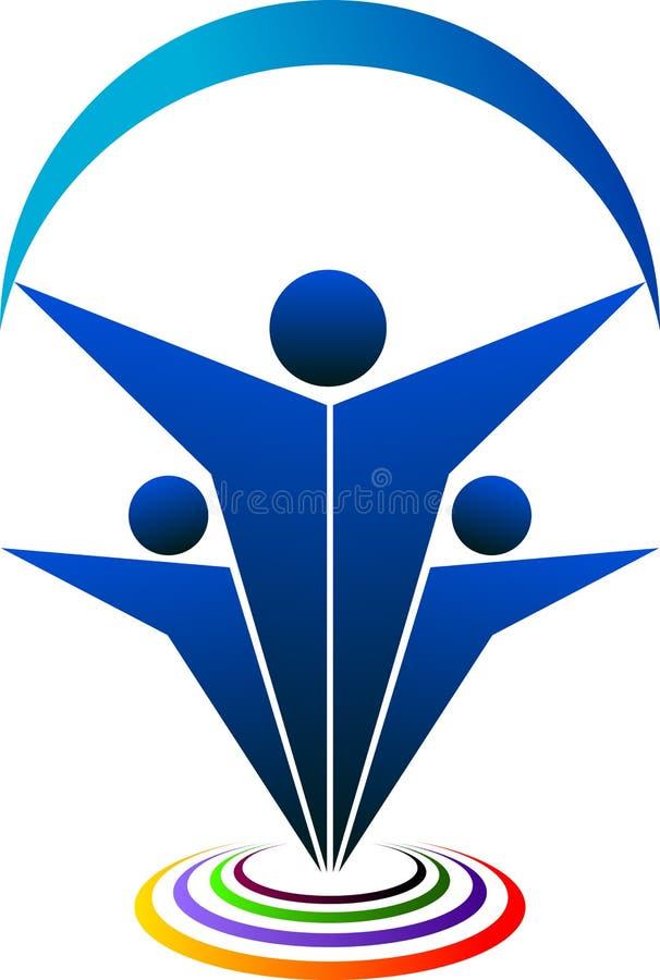 λογότυπο ζευγών διανυσματική απεικόνιση