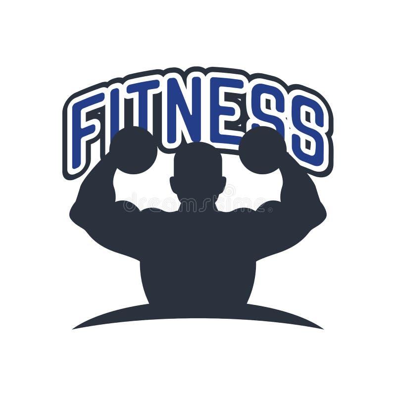Λογότυπο ικανότητας για την επιχείρηση αθλητικών σχολείων σας που απομονώνεται στο άσπρο υπόβαθρο απεικόνιση αποθεμάτων
