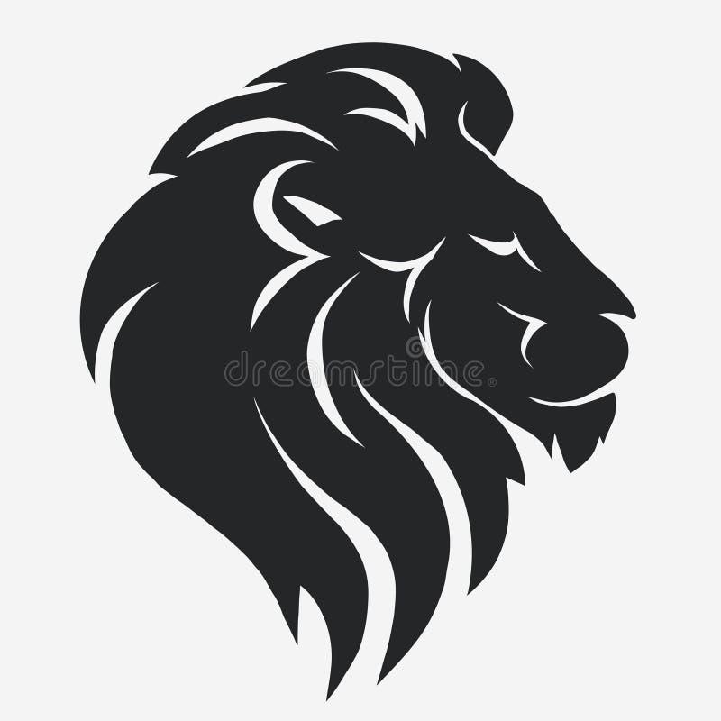 Λογότυπο λιονταριών διάνυσμα απεικόνιση αποθεμάτων
