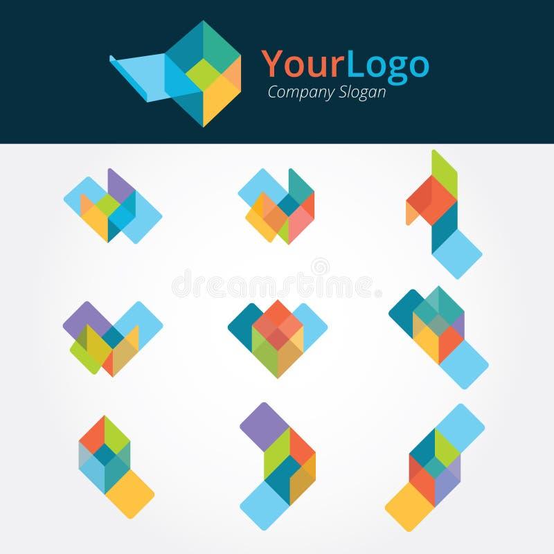 Λογότυπο και γραφικό σχέδιο διανυσματική απεικόνιση
