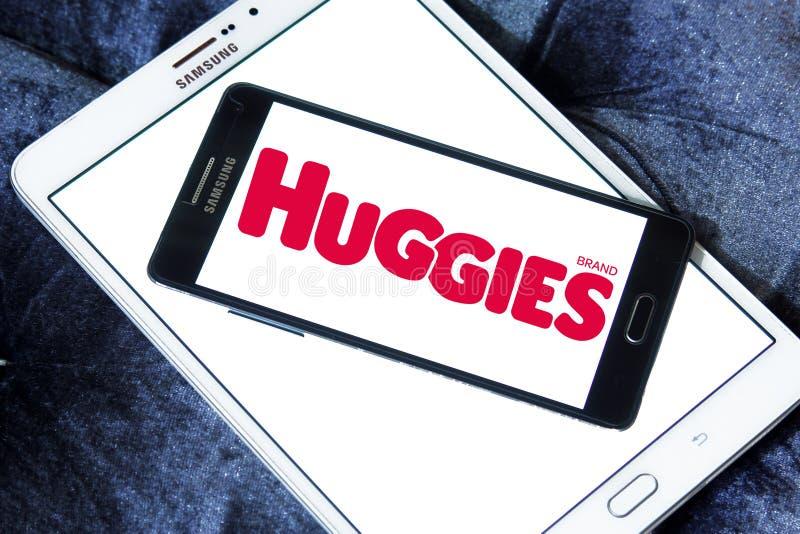 Λογότυπο κατασκευαστών πανών Huggies στοκ εικόνες