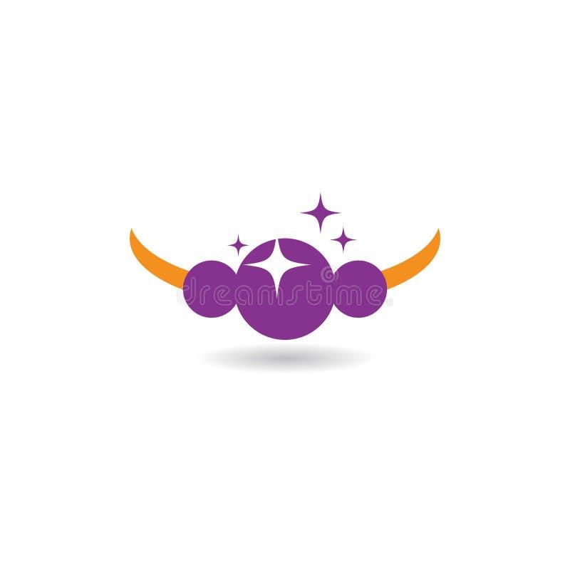 Λογότυπο κοσμημάτων απεικόνιση αποθεμάτων