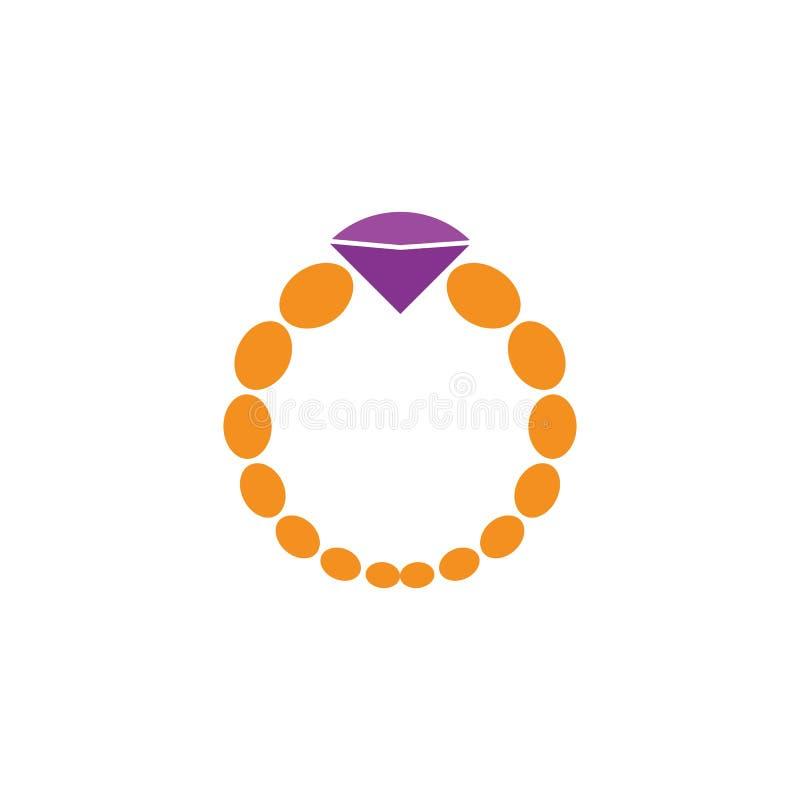Λογότυπο κοσμημάτων διανυσματική απεικόνιση