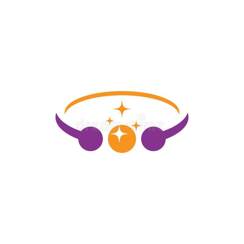 Λογότυπο κοσμημάτων ελεύθερη απεικόνιση δικαιώματος