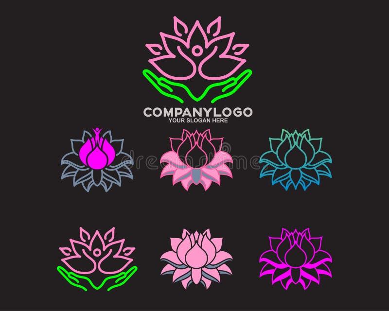 Λογότυπο λουλουδιών τουλιπών στοκ φωτογραφίες με δικαίωμα ελεύθερης χρήσης