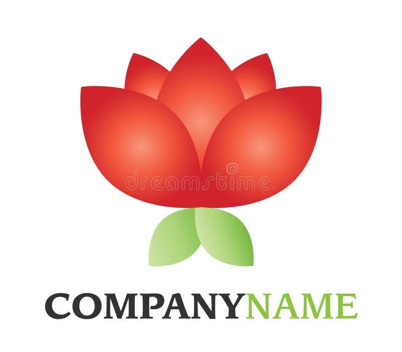 λογότυπο λουλουδιών διανυσματική απεικόνιση