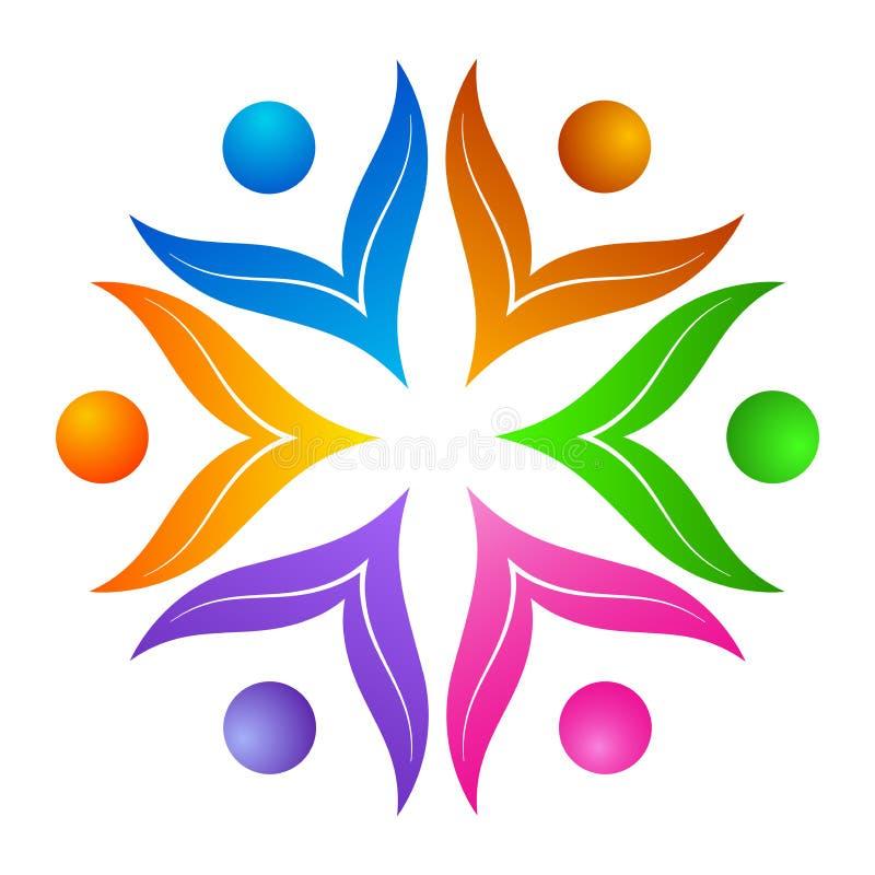 λογότυπο λουλουδιών απεικόνιση αποθεμάτων