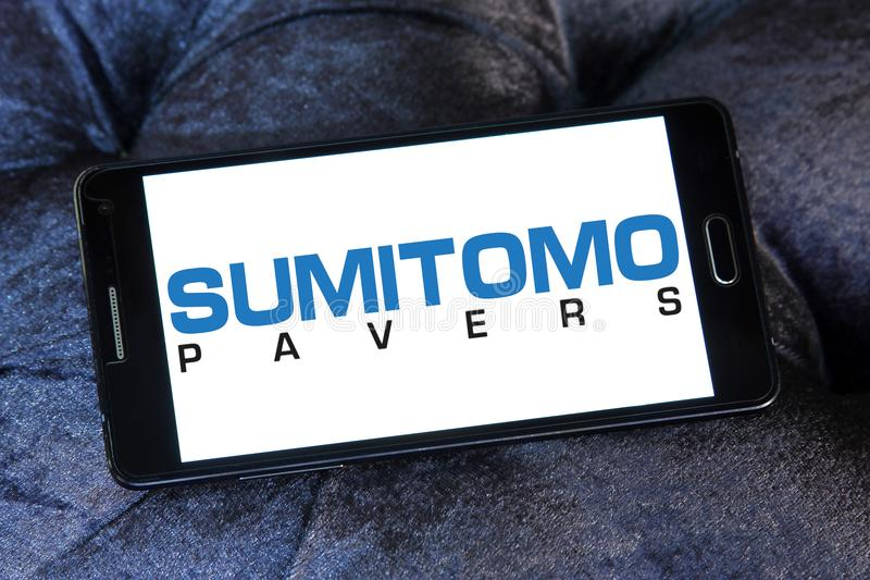 Λογότυπο μηχανημάτων κατασκευής Sumitomo στοκ εικόνες