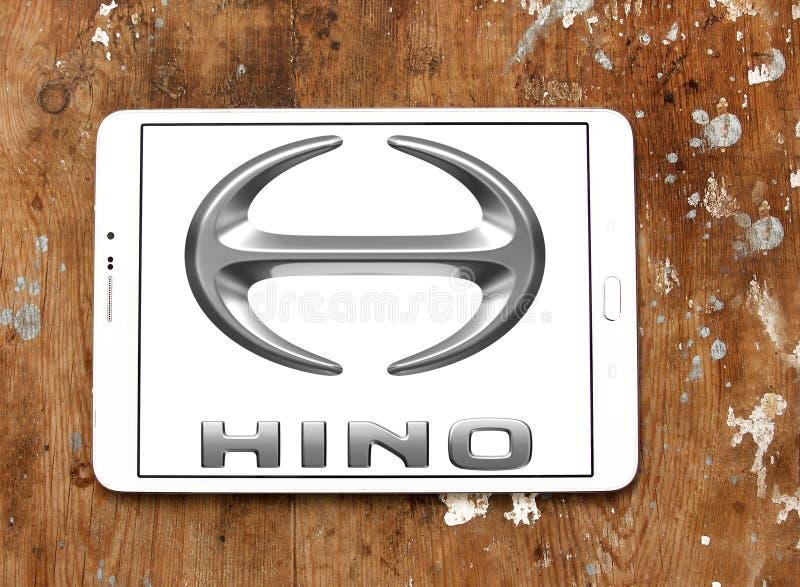 Λογότυπο μηχανών Hino στοκ εικόνες
